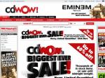 CD WOW up to 60% off CDs, DVDs and Video Games