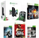 Xbox 360 250GB with Tomb Raider, Halo 4 Battlefield 4 and Red Dead Redemption $278 Dick Smith