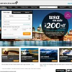 Auckland & Christchurch Return ex Melb $232, Syd $236, GC $234* with Air New Zealand