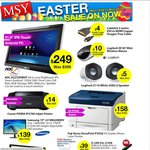 "MSY Easter Sale, SanDisk Extreme II 480GB SSD for $285, AOC A2272PWHT 21.5"" IPS Android for $249"