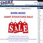 [Sydney] Shire Music Stocktake Sale
