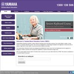 Yamaha Music Education - 3-4 Year Old Music Course 25% off Was $330 Now $247 Berwick (VIC)