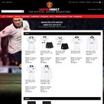 Manchester United Store 60% off Everything