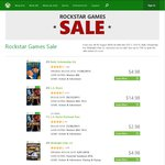 Rockstar Games on Sale on Xbox Marketplace, up to 75% off