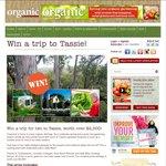 Win a Trip To Tasmania $2,500: Organic Gardener