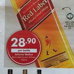 Johnnie Walker Red Label Scotch Whisky 700ml $28.90 @ Dan Murphy's Start Wed 24th Sept