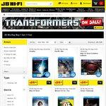 JB HI-FI 3D Blu-Ray Movies Buy 1 Get 1 Free (2 X 3D Movies for Max $29.98)