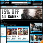 15% off All Games with Free Shipping on Orders over $80 @ EZYDVD
