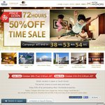 Hilton Hotel Japan/Korea 50% OFF