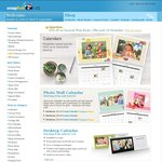Snapfish - 3 for 1 Calendars, 60-70% Canvas, 65% off Photo Books or 40% off & Free Delivery