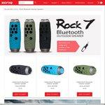 SONIQ Rock 7 Bluetooth Outdoor Speaker - 40% off $129RRP NOW $77.40 Save $51.60. + $12 Shipping. Must Be a SONIQ Member @ SONIQ.