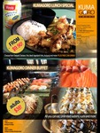 Unlimited Sashimi, Sushi, Tempura, Steak and Hot Meal - Adults $38 @ Kumagoro (Floreat WA)