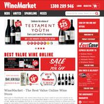 WineMarket Voucher Giveaway: $30, $20 and $10 Discount on All Wine. Minimum Spend $65