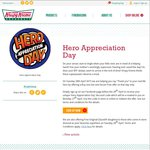 Krispy Kreme - Free Original Glazed (Superhero Dress up) / BOGOF Dozen on Tue 28 Apr