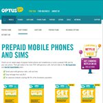 Half price Optus $10 Prepaid SIM Starter Pack for $5, 50% off (Free shipping) - Optus Online Store