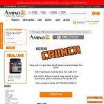 Optimum Nutrition 100% Whey 4.5kg + Cellmass $149.95 & ON Hydrowhey $29.95 @ Amino Z