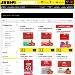 Canon CLI8 Ink Cartridge Red or Green $1, Canon CL-52 FINE Ink Cartridge $5 Delivered @JB Hi-Fi