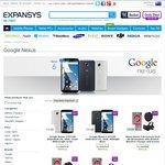 Motorola Nexus 6 XT1100 32GB LTE Midnight Blue/White $494.99 Delivered @ Expansys