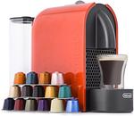 DéLonghi U Nespresso Coffee Machine - Orange $99.0 @ COTD (Club Catch)