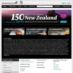$150 off Flights with Air New Zealand