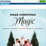 FREE Santa Photo in Select Stores @ Harvey Norman on Saturdays & Sundays until 20/12/2015
