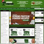 $20 off Purchases over $100 @ Venom Protein