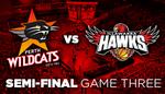 50% off NBL Perth Wildcats V Illawarra Hawks Semi Final 3 Tickets for Tonight