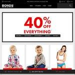 Bonds - 40% off Everything - Shirts $15, Ts $7, Socks $4, Free Shipping & Returns