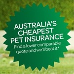 Take out Woolworths Pet Insurance and Get a $50 Woolworths Gift Card