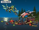 COTD - LEGO Ninjago Final Flight of Destiny's Bounty $89.10 + Delivery