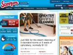 $55 for The Steam Cleaning of 3 Standard Rooms or 3 Seats of Upholstery, Normally $110 MELB ONLY