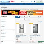 Spend over $1,000 on Any Fridge at The Good Guys, Get $100 off with Coupon Code