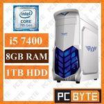 Intel 7th Gen Quad Core i5 7400 3.5GHz 8GB DDR4 1TB HDD - $504.2 @ PC Byte eBay