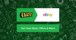 eBay.com Cashback 5% Camera and Photo, 4% Tickets and 3% Watches and Jewellery @ Ebates