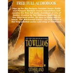 FREE Audiobook: CITY OF GOLDEN SHADOW by Tad Williams