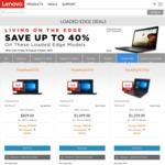 Lenovo ThinkPad E570p (i7-7700HQ, 8GB RAM, 128GB SSD + 1TB HDD, GTX1050 2GB) $1259 Via Lenovo