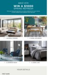 Win a $1,000 West Elm Gift Card from Williams-Sonoma