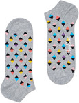 HAPPY SOCKS Big Dot Low Sock Multi Color Only $3.50/Pair (Was $12.95) Add in Bag @ David Jones C & C Only