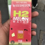 Free 200ml H2 Melon Water (outside Fitness First, Australia Square SYD)