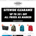 Eastpak Online Australia - up to 50% off - All Styles Reduced (Discounts Vary Per Style) - Eastpakaustralia.net.au
