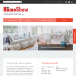 Free Tickets to The Sydney Home Show (27/10-29/10)