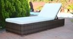 White or Brown Wicker Sunlounge @ $249 @ Direct Outdoor Furniture (Perth, WA)