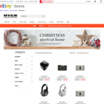Myer: Take 15% off Bose Products (Today Online) / + Further 5% off eBay Store using Coupons