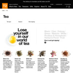 T2 Tea - 3 for 2 on Teas in-Store and Online