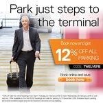 (QLD) 12% off All Parking @ Brisbane Airport