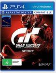 [PS4] Gran Turismo Sport - $29 C&C @ Target