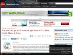 AVG Anti-Virus 2011 + a Few Other Software Packages $30