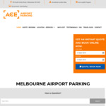 [VIC] Melbourne Ace Airport Parking - 1 Day Free (No Min Stay) | 2 Days Free (5 Days Min Stay)