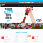 10% off Sitewide (Talking Bottle Openers Including Marvel, AFL, All Blacks, Mr. President and More) @ Bottlepops
