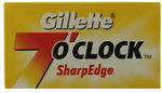 Gillette 7 O'clock SharpEdge Double Edge Razor Blades $19.99 for 100pk @ The Shave Shed eBay